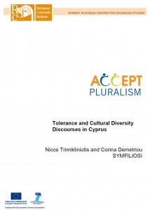 Tolerance and Cultural Diversity - Discourses in Cyprus -Nicos Trimikliniotis and Corina Demetriou : SYMFILIOSI